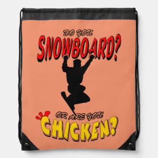 SNOWBOARD-HUHN 2 SPORTBEUTEL