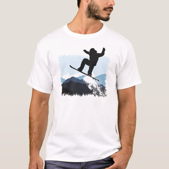 Snowboarder Action Jump T-Shirt