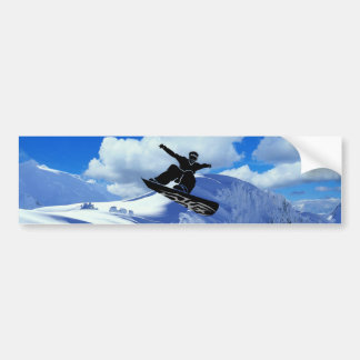 Snowboarder Autoaufkleber