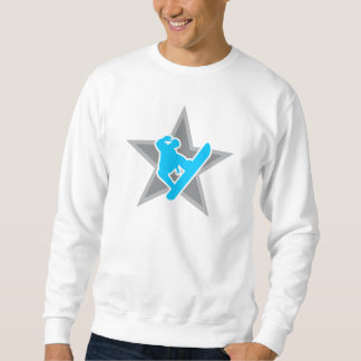 Snowboarder Star v2 light Sweatshirt
