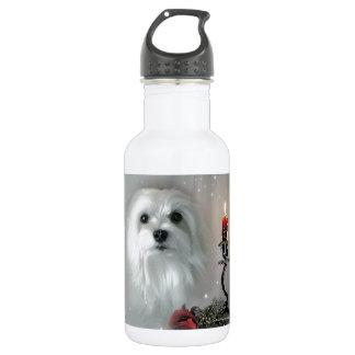 Snowdrop das maltesische trinkflaschen