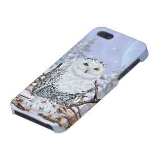 Snowy-Eule iPhone 5 Case
