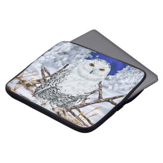 Snowy-Eule Laptop Sleeve
