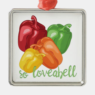 So Loveabell Silbernes Ornament