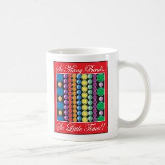 So viele Perlen Kaffeetasse