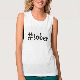 #sober Muskelunterhemd Tanktop