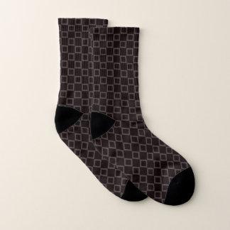 Socken mit klassischem Braun- und
