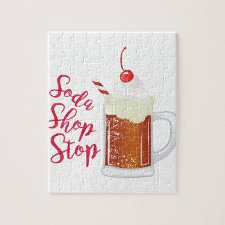 Soda-Geschäfts-Halt Puzzle