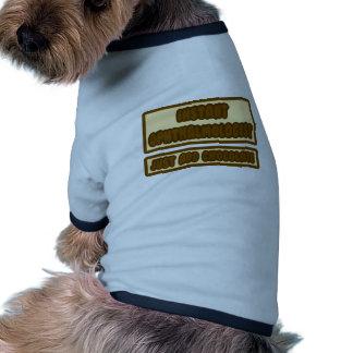 Sofortiger Ophthalmologist… addieren gerade Schoko Haustier T-shirt