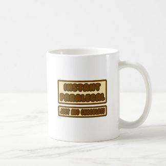Sofortiger Rechtsassistent… addieren gerade Schoko Teetasse