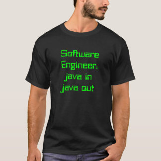 Software Engineer: Java in Java heraus T-Shirt