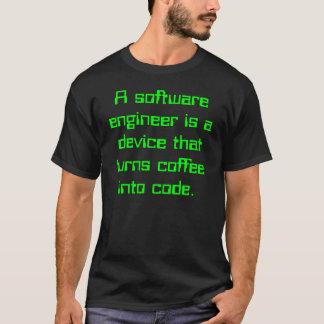 Software Engineer Kaffee-Witz T-Shirt