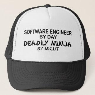 Software Engineer tödliches Ninja Truckerkappe