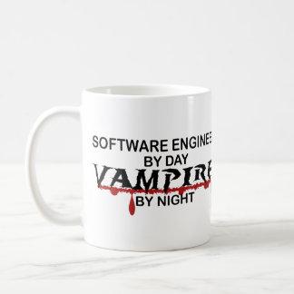 Software Engineer Vampir bis zum Nacht Tasse