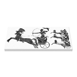 Sohn-ägyptische Kunst eingewickelte Leinwand Gespannter Galeriedruck