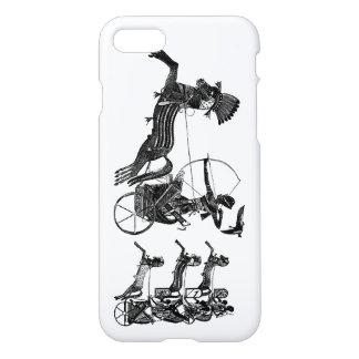 Sohn-Vintages Kunst iPhone König-Ramesses II iPhone 8/7 Hülle