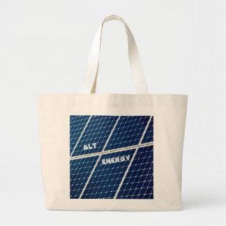 SolarPower Jumbo Stoffbeutel