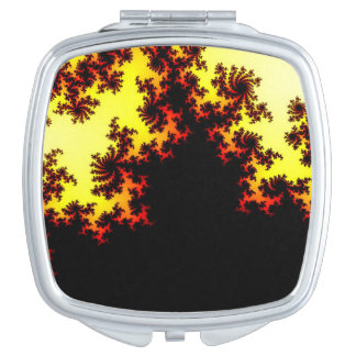 Solarsturm abstrakt taschenspiegel