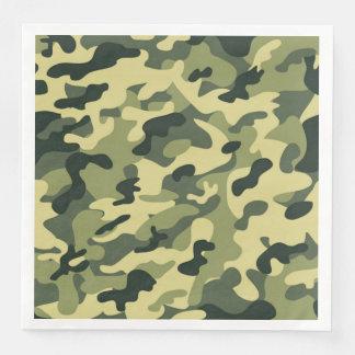Soldat-JoeGI Tarnungs-Party-Servietten Papierserviette
