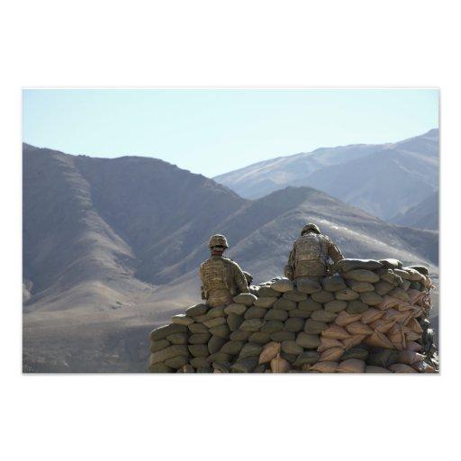 Soldatlaufkommunikationsausrüstung Kunstphoto