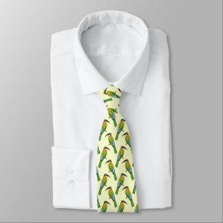 Somalischer Biene-Esser Vintages Kunst-Muster Personalisierte Krawatten
