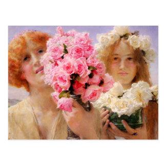 Sommer-anbietenpostkarte Lawrence Alma Tadema Postkarte