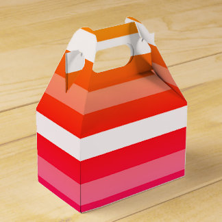 Sommer-Druck-Bevorzugungs-Kästen Geschenkschachtel