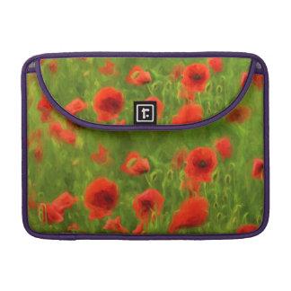 Sommer-Gefühle - wunderbare Mohnblumen-Blumen II Sleeve Für MacBook Pro
