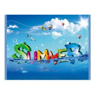 Sommer Postkarten