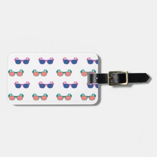 Sommer-Spaß-Sonnenbrille-Gepäckanhänger Kofferanhänger
