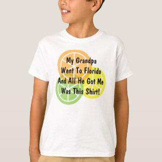 Sommer-Zitrusfrucht - Großvater ging zu Florida - T-Shirt