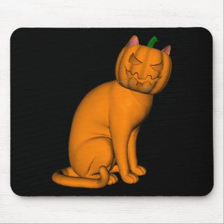 Sonderbare Halloween-Katze Mousepad