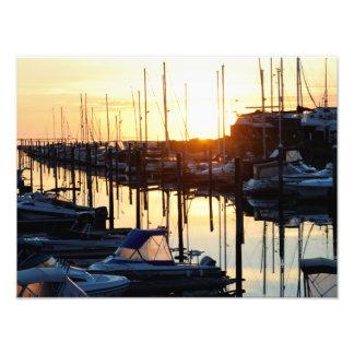 Sonnenaufgang an Yaringa Jachthafen Fotos