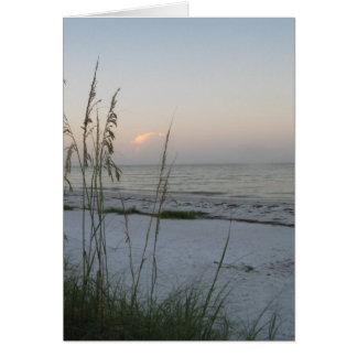 Sonnenaufgang auf dem Golf Karte