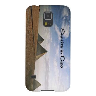 Sonnenaufgang Gisehs Ägypten Samsung S5 Hüllen