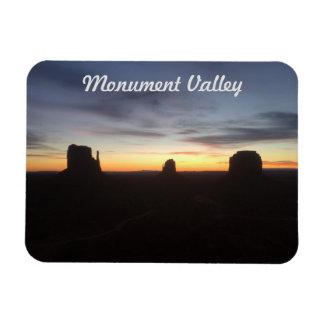 Sonnenaufgang im Monument-Tal Magnet