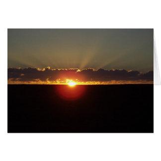 Sonnenaufgang in Montana Karte