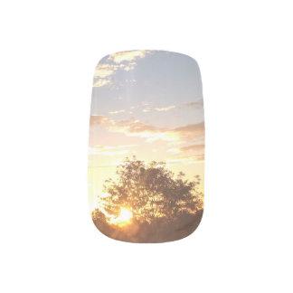 Sonnenaufgangnägel Nageldekor