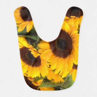 Sonnenblume-Baby-Schellfisch Lätzchen