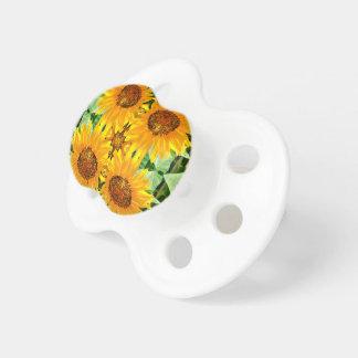 Sonnenblume-Baby-Schnuller Schnuller