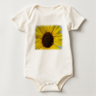 Sonnenblume-Baby T Strampelanzug