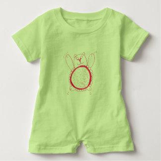 Sonnenblume-Bärn-Babys Rompa Baby Strampler