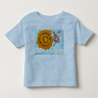 Sonnenblume des Kleinkind-T Bunnyflight Kleinkinder T-shirt