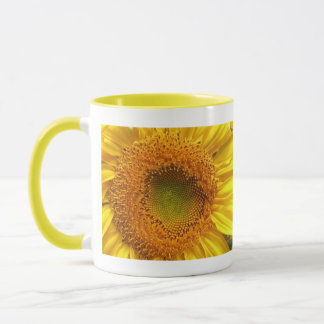 Sonnenblume-Foto-Tasse Tasse