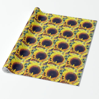 Sonnenblume Geschenkpapier