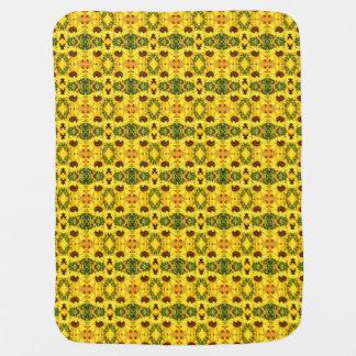 Sonnenblume-Kaleidoskop Babydecken