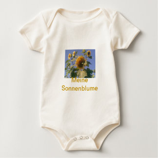sonnenblume, Meine Sonnenblume Strampelanzug
