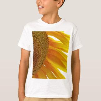 Sonnenblume mit Hummeln T-Shirt