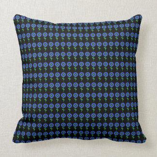 Sonnenblume-Mod-Blau--Multi-SZ Kissen