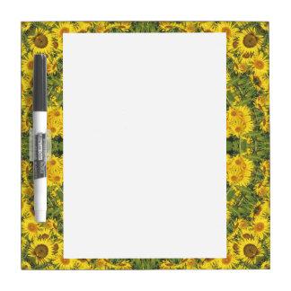 Sonnenblume-Natur, Blume-Mandala (Blumen-Mandala) Memoboard